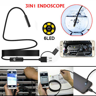 HD Waterproof Type C Endoscope Borescope Inspection Camera for Samsung Galaxy S8