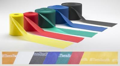 New Theraband Thera-Band resistance bands. NHS. Exercise pilates yoga physio UK