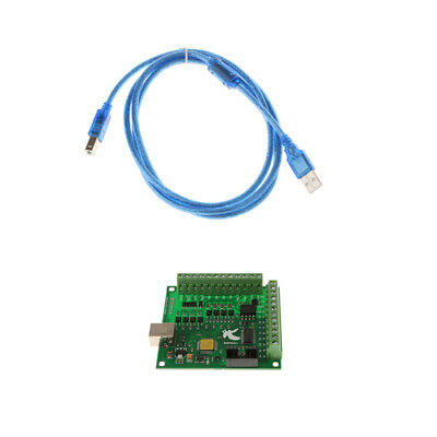 USB Cable 4 Axis CNC Electronics Breakout Board Motion Controller Card