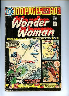Wonder Woman #214 - DC 1974 - VG+ - 100 Pages