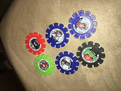 NEW Marvel Super Heroes Woolworths 6 Discs Pack