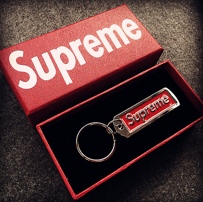 Supreme Key chains SUP pendant key ring accessories Backpack Jewelry Lanyard