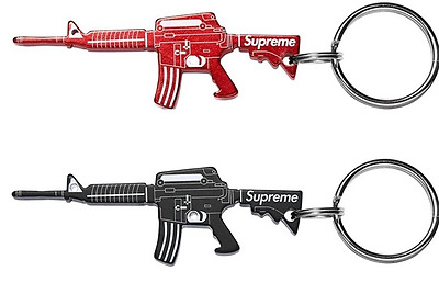 Supreme M16 Key Chains Bottle opener Lanyard Accessory Backpack jewelry Portable