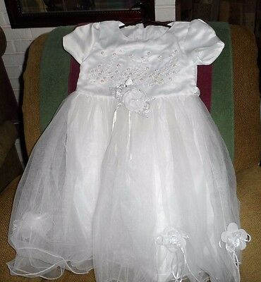 NEW KIDS Girls Dresses size 7 WHITE dress  any Occasion