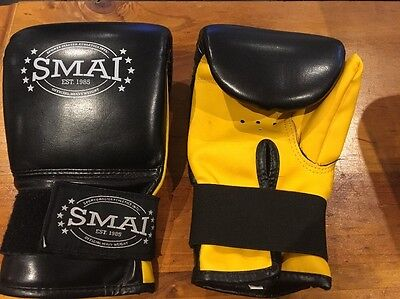 Smai Boxing Gloves Karate Martial Arts Sparring Gear Guard