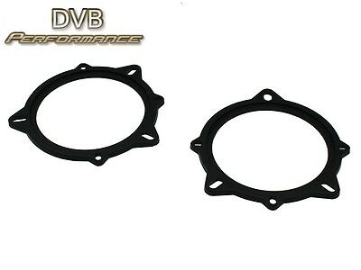 """Connects2 CT25BM08 To Fit BMW E88 1 Series Front Door 4"""" 10cm Speaker Collars"""