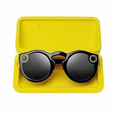 Spectacles Snap Camera Glasses For Snapchat - Black - FREE NEXT DAY UK DELIVERY
