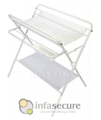 Br New InfaSecure Deluxe Folding Change Table Centre Changer Station White