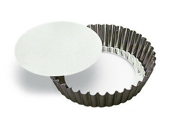 GOBEL Round Fluted Cake Mould 250x50mm Tinplate