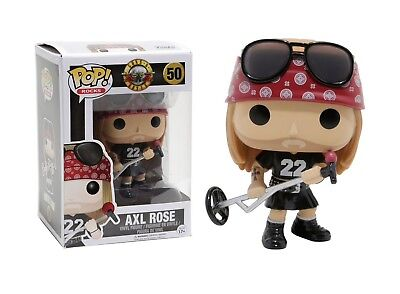 Funko Pop Rocks: Guns N Roses - Axl Rose Vinyl Figure Item #10688