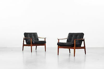 Lounge Chairs by Arne Vodder for France & Son Danishdesign 1960