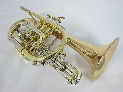 Besson Sovereign BE928G-1 Large Bore Cornet - Lacquer (2015 used instrument)
