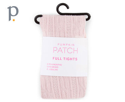 Cable Knit Tights - Lotus Pink