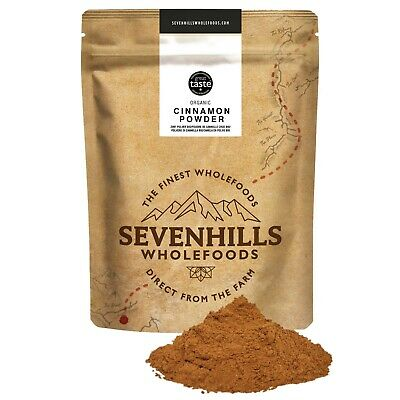 Sevenhills Wholefoods Organic Raw Cinnamon Powder | Baking, Digestion