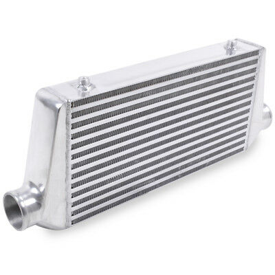 UNIVERSAL 65mm ALUMINIUM CUSTOM DIY TURBO KIT CAR FRONT MOUNT INTERCOOLER FMIC