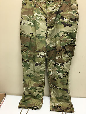Army Issued Multicam W-2 Ocp Scorpion Uniform Trousers Small Short Nwt