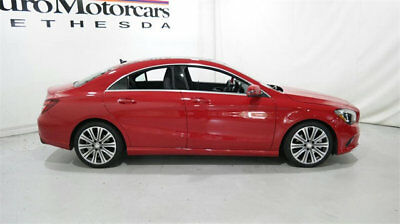 2017 Mercedes-Benz CLA-Class CLA 250 4MATIC Coupe mercedes-benz cla 250 4matic coupe jupiter red harmon kardon   panoramic roof 4