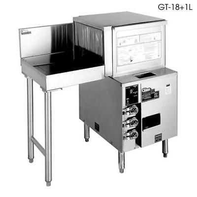 Glastender - GT-18+1R - Front-to-Side Rotary Glasswasher w/Right Drain Table