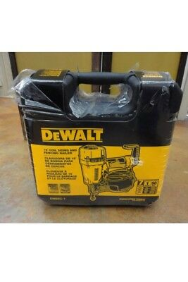 Dewalt DW66C-1 Pneumatic 15-Degree Coil Siding Nailer - Free Shipping - NEW