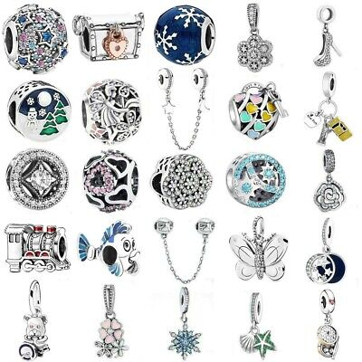 925 European sterling Pendant Silver Charms Bead For Bracelet Chain Necklace
