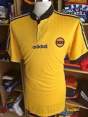 Vintage Shirt Lillestrom SK (XL) Home Adidas Norway Jersey