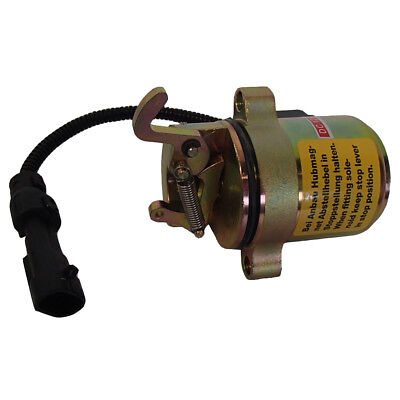 Fuel Shut Off Solenoid for Bobcat Late Skid Steer T200 S250 A300 A220