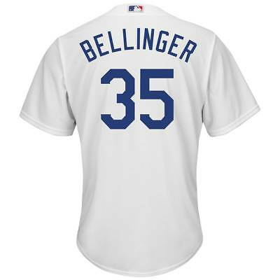 Majestic Cody Bellinger #35 LA Dodgers Cool Base MLB Trikot Home
