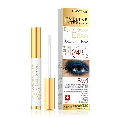EVELINE 24h MAGIC STAY 8in1 EYE SHADOW BASE LONG LASTING EYE PRIMER INNOVATION