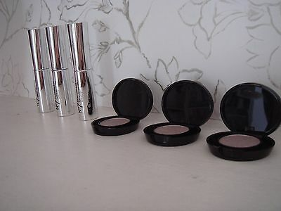 Brand New Lot Boots No 7 3 x Dramatic Lift Mascara + 2 x Stay Perfect Eye Shadow