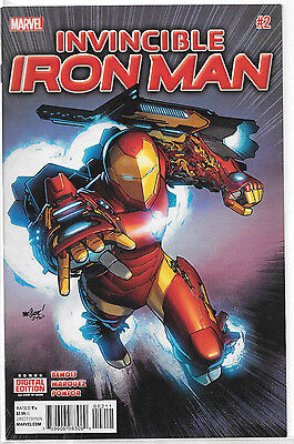 Marvel Invincible Iron Man #2