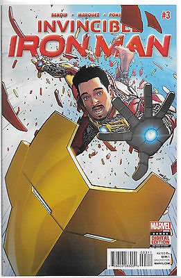 Marvel Invincible Iron Man #3