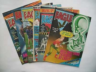 """Eagle"" comics6 issues 1982.."