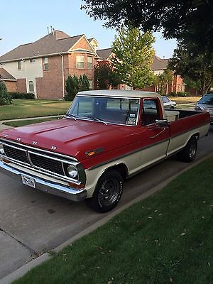 1970 Ford F-100 Custom long bed 1970 Ford F100