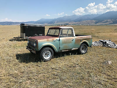 1962 International Harvester Scout  COUT 80 IH 1962 4SPD