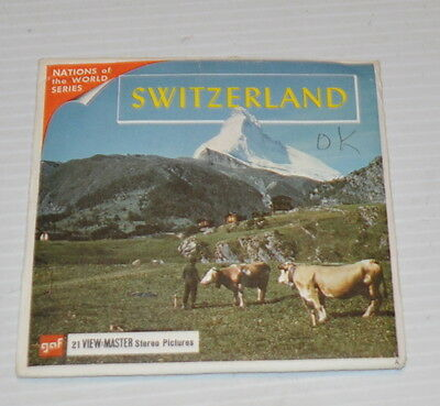 - SWITZERLAND  VIEW-MASTER Reels with Packet-