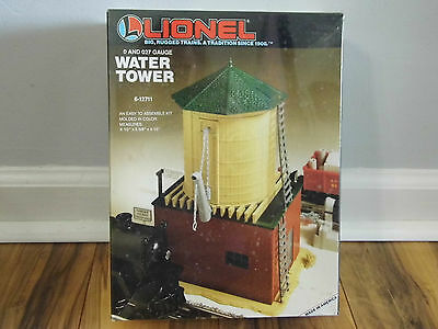 NEW Lionel Train 0 and 027 Gauge Water Tower 6-12711