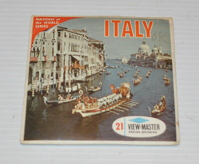 - ITALY Nations of the World Series VIEW-MASTER Reels with Packet B-180 -