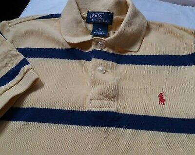 Ralph Lauren Polo Boys Polo Shirt Bran New Without Tags Size 6 Age Approx 5Yrs