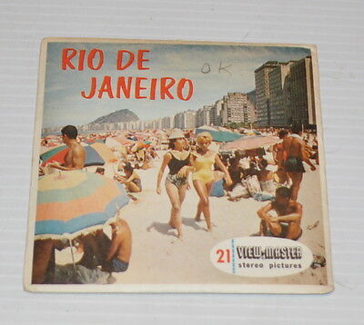 - RIO DE JANEIRO   VIEW-MASTER Reels with Packet B-058-