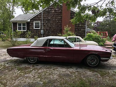 1966 Ford Thunderbird Convertible 1966 Ford Thunderbird