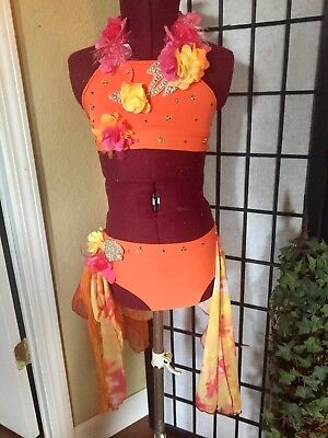Sassy Jazz Custom Made Competition Dance Costume