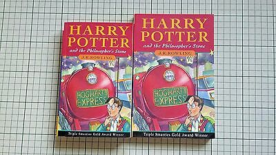 Harry Potter and the Philosopher's Stone. Scarce Small sized Paperback