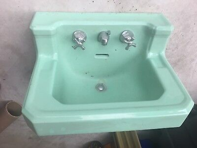 Vintage American Standard wall mount Sink with Faucet