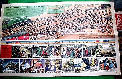 Eagle Cutaway  13/11/1953   Railway Tracks, Switches & Crossovers   Very Nice