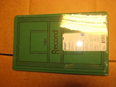Corporate Expres Record Account Book Journal Rule Blue 160 Pgs 12 1/8 pen ledger