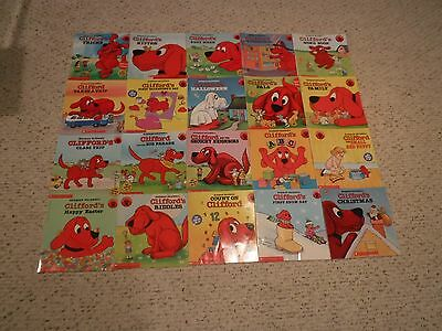 Clifford The Big Red Dog Set Of 20 Childrens Picture/ Story Books  (E)..teachers
