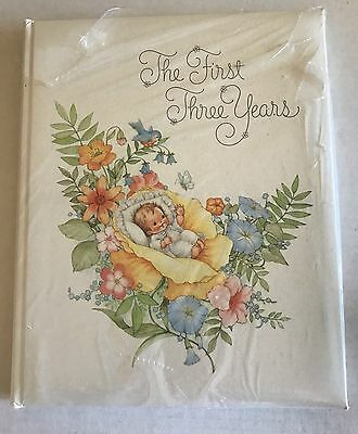 VTG Hallmark Baby Memory Book The First 3 Years #199-6 Unisex Unused