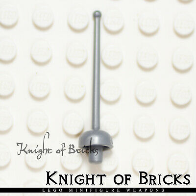 Lego Weapon Flat Silver Gray GREAT SWORD Pointed Knight Castle Minifig ☀️NEW