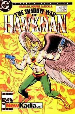 Shadow War of Hawkman #2 in Very Fine + condition. FREE bag/board