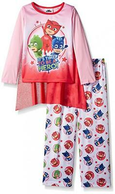 PJ Masks Girls L/S Pajama Top 2pc Set Size 4 6 8 $40